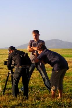 "Shing Fung Cheung, Peter Hegedus & Dorka Hegedus-Lum in San Fransisco. ""My America"", 2011"