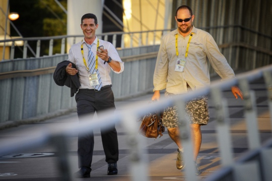 John Taylor & Scott Kyle, ABC News, 2014